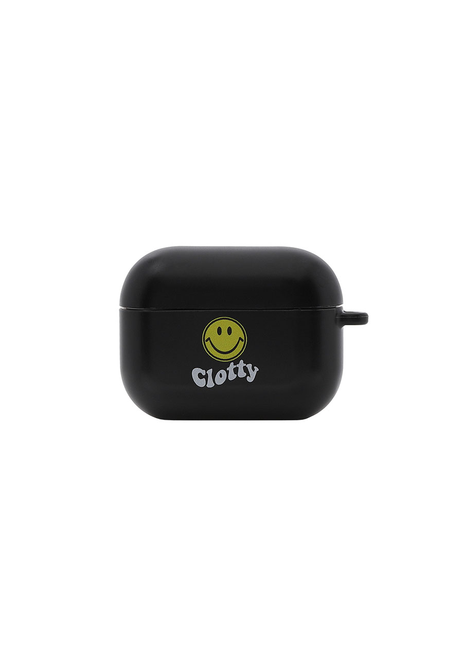 CLOTTYSMILE WAVE AIRPODS PRO CASE[BLACK]