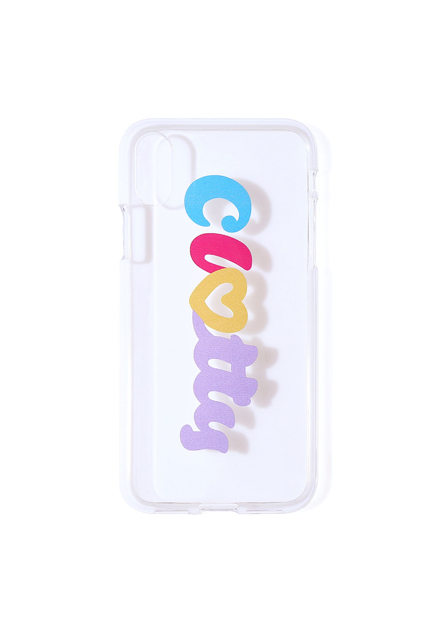 CLOTTYHEART CLOTTY JELLY CASE[CLEAR]