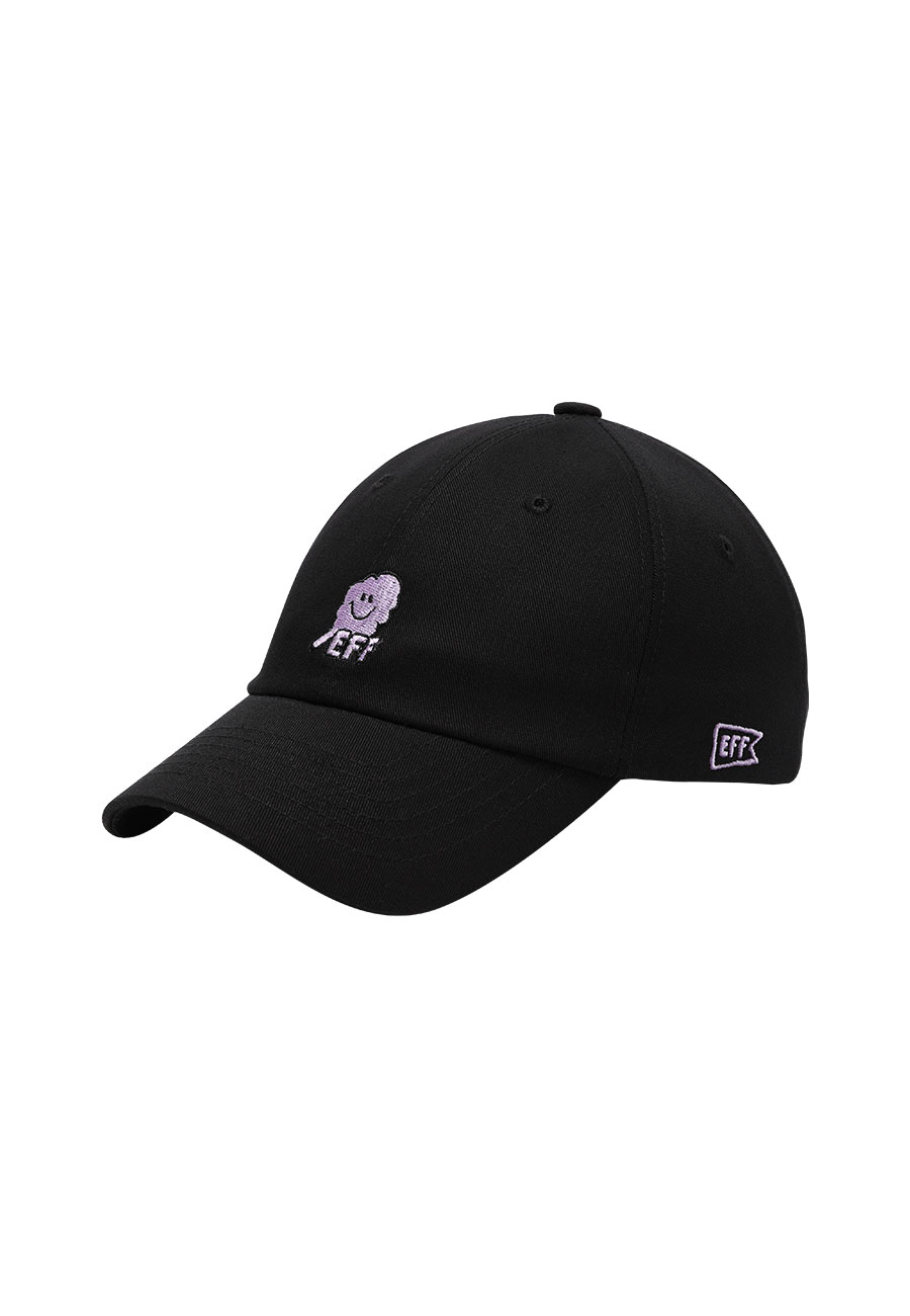 CLOTTYOUTLINE CC EFF BALLCAP[BLACK]